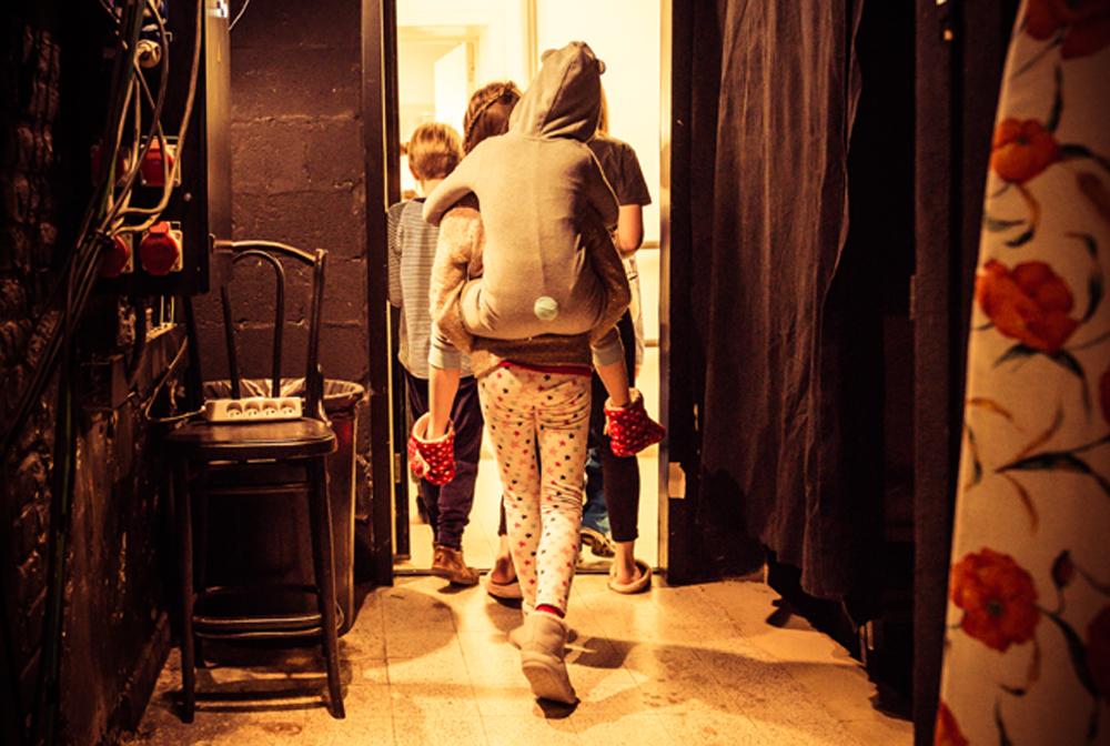 A l'Opéra en pyjama